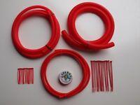 Conduit Engine /  Wiring Dress Up Kit in RED -  Boostjunkies