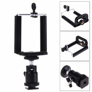 Cell-Phone-to-DSLR-Smartphone-Mount-Holder-w-Hot-Cold-Shoe-Adjustable-Angle
