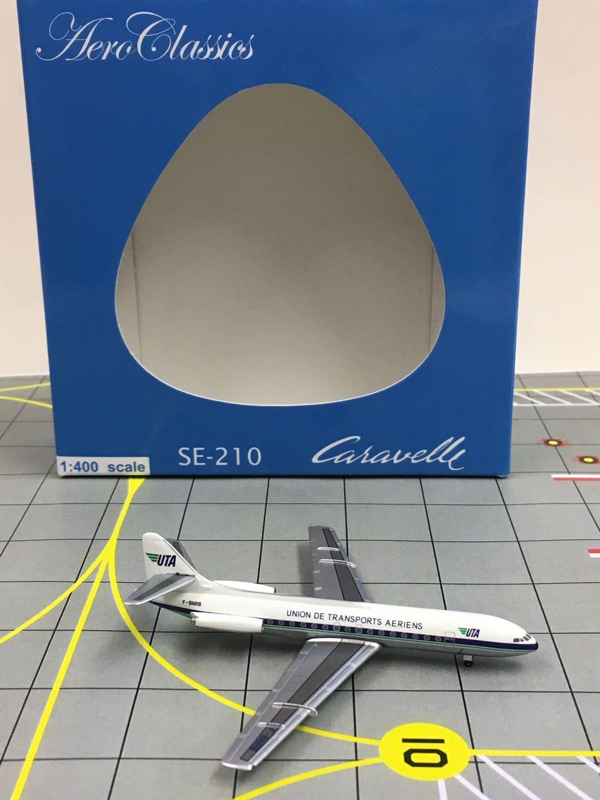 Begränsad upplaga RARE Aeroklassics 1 400 UTA SE -210 bilavelle F -BNRB