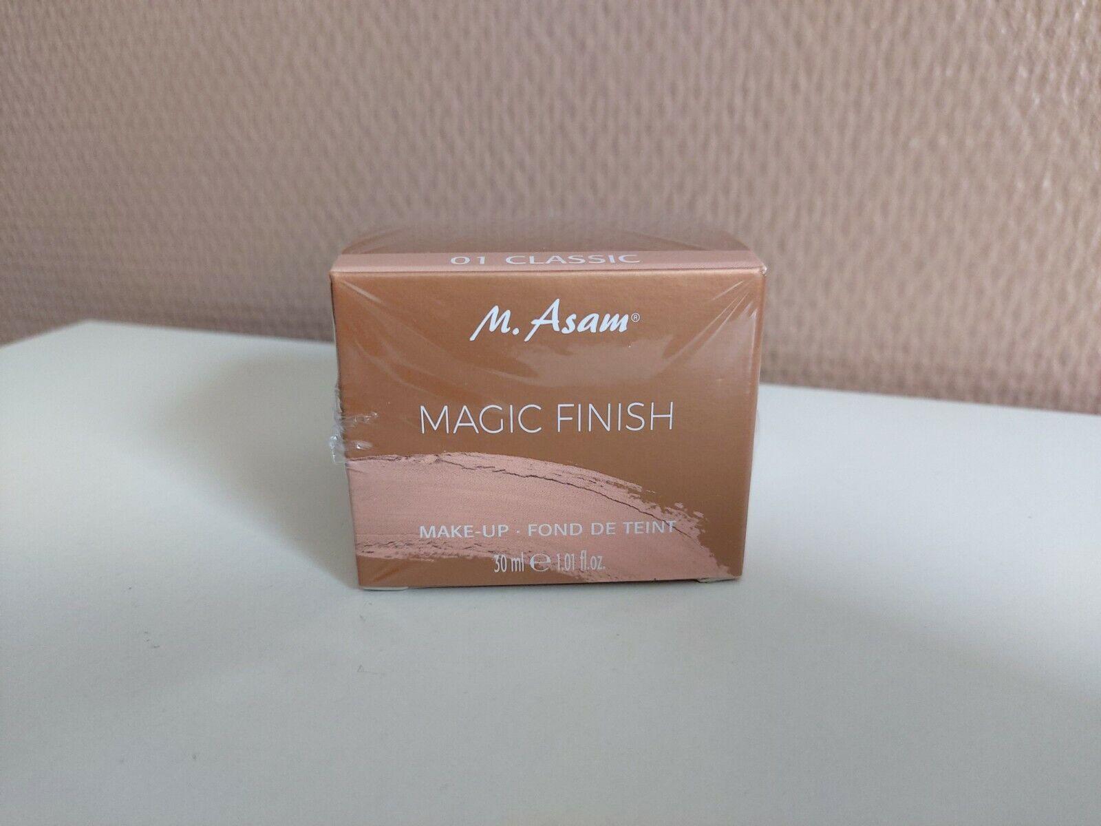 M.Asam Magic Finish Make-Up-Fond De Teint 30 ml neu