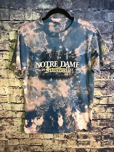 Notre Dame Fighting Irish Vintage Tie Dye Size Small TShirt Free Shipping Look🔥