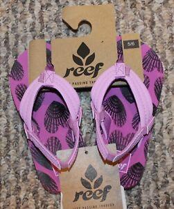 4b6c6bd9f New! Toddler Girls REEF Flip Flops Sandals Shoes (Heart Shells ...