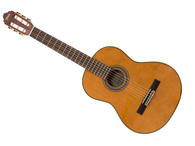 VALENCIA VC204L LEFT-HANDED CLASSICAL GUITAR ANTIQUE   Spruce Top Mahogany Fi...