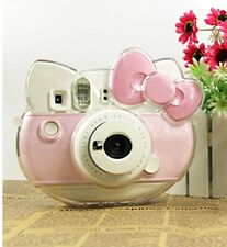 Hard Camera Case Bag For Fujifilm Polaroid instax mini Hello Kitty 40th Clear