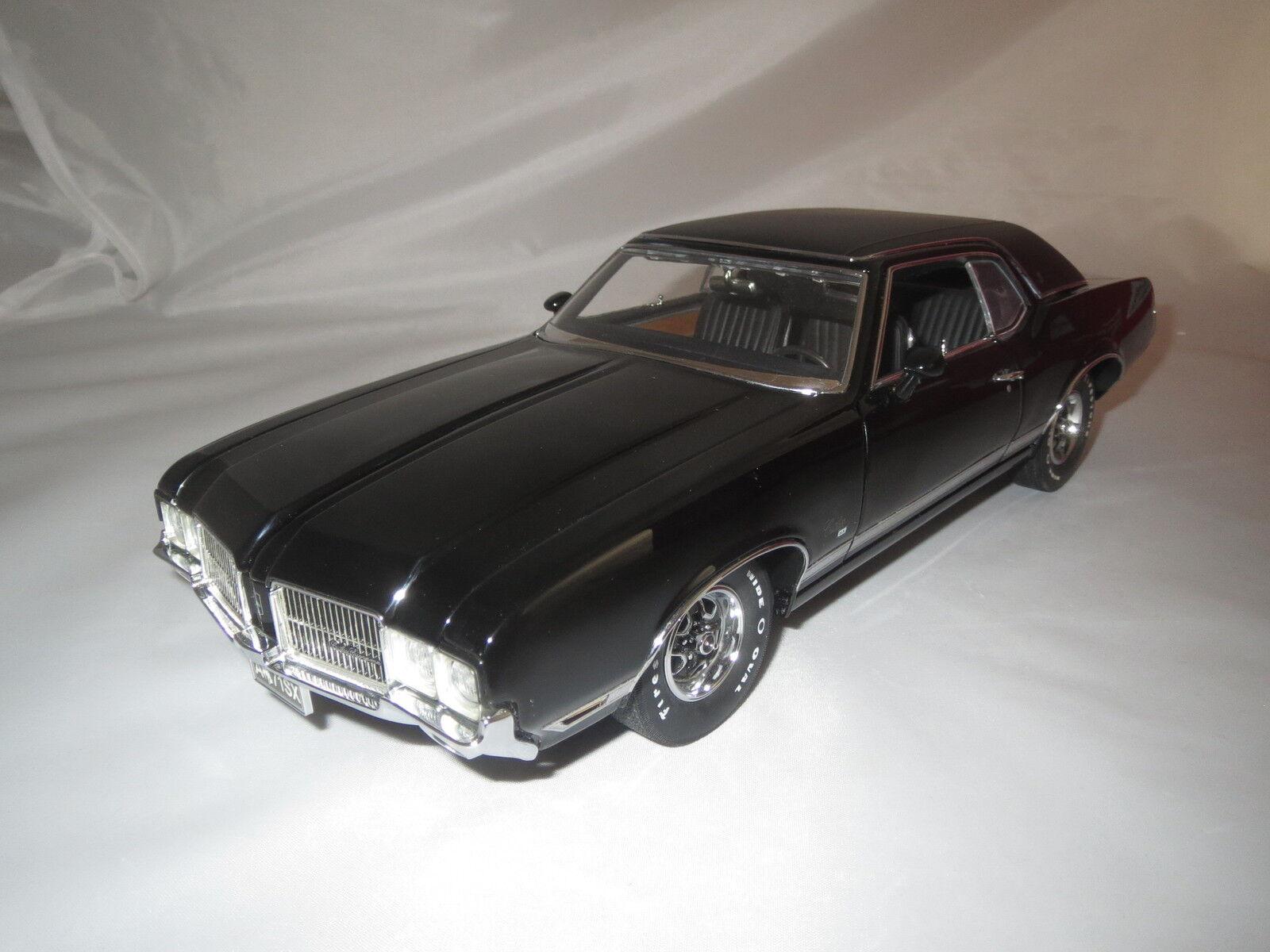 Lane EXACTDETAIL replicas  71 Oldsmobile Cutlass supreme sx Noir 1 18 OVP