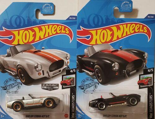 W//ZAMAC SHELBY COBRA 427 S//C 2020 Hot Wheels SHELBY COBRA 427 S//C