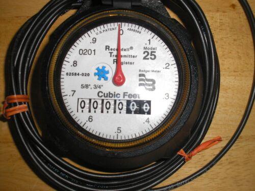 Details about  /Badger Meter Type R25 Meter new