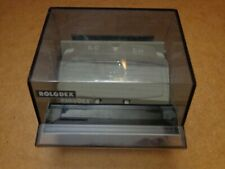 Vintage Rolodex S 300c Business Card File Box