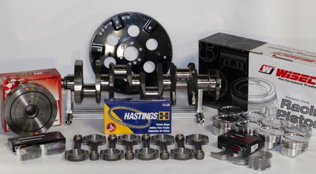 383 ASSEMBLY SCAT CRANK 5.7 RODS WISECO -10cc Dh 030 PISTONS 1PC RM 5/64-5.7