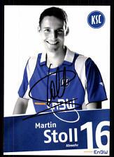 Martin Stoll Autogrammkarte Karlsruher SC 2007-08 Original + A 103757