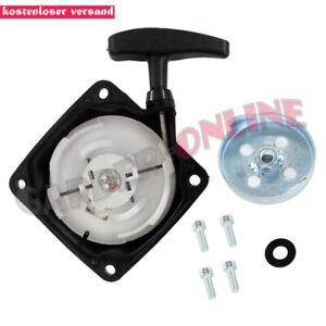 Seilzugstarter-amp-Mitnehmerplatte-fuer-Demon-RQ580-Motorsense-Erdbohrer-M84000