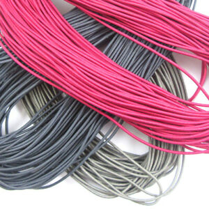 2mm-Round-Coloured-Beading-Millinery-Craft-Stretchy-Elasticated-Cord