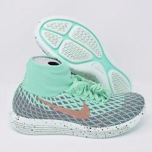 d3e4c5ac8ba9 Nike LunarEpic Flyknit Shield 849665-300 Womens Shoes Green Glow Red ...