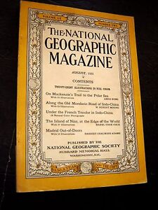 ANTIQUE-NATIONAL-GEOGRAPHIC-May-1931-ILLINOIS-The-Andes-GRIMM-FAIRYLAND-GERMANY