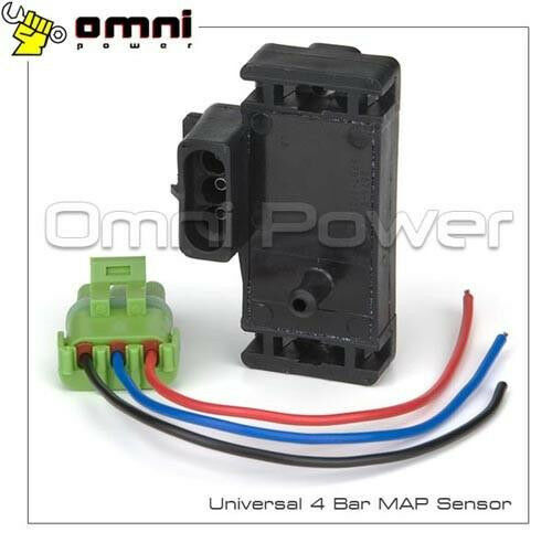 PIGTAIL MADE IN THE USA GM STYLE 4 BAR MAP SENSOR