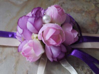 Brautjungfer Blumenarmband Hochzeit Blume Perle Lila Blumenmädchen Hochzeit & Besondere Anlässe Kleidung & Accessoires Tischdeko Noch Nicht VulgäR