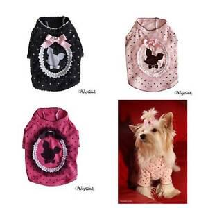 Chemise De Luxe Pour Chien Playful Trend Label Wooflink Rose Fuchsia Noir Xs S M L