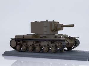 KV 2 Sovjets tunga pansarvagn SSM3033 1 43