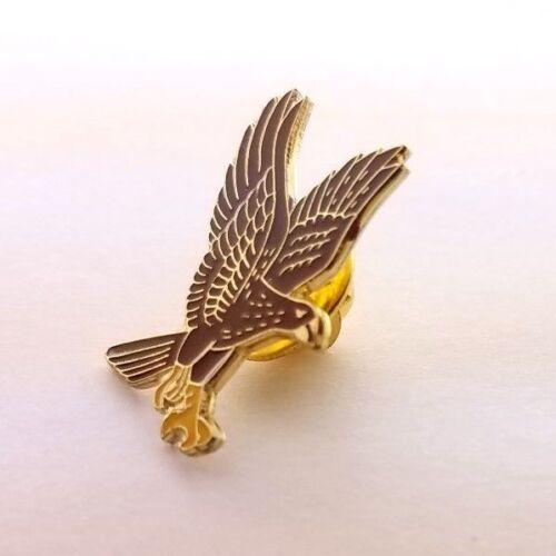 Golden Eagle Lapel Pin Badge