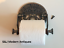 Victorian-Toilet-Roll-Holder-Silver-Grey-Iron-Vintage-Novelty-Unusual-Crown-Old thumbnail 8