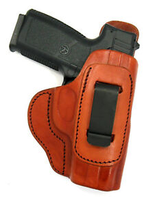 Details about CLEARANCE Tagua Brown Leather Right Hand IWB Holster w/  COMFORT TAB - KAHR PM45
