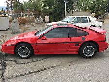 1986 Pontiac Fiero GT FASTBACK FAST BACK GT