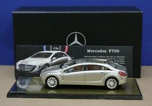 Spark-1-43-Resin-Mercedes-F700-Concept-Car-Gold-100-Issued-Mint-Box-DB