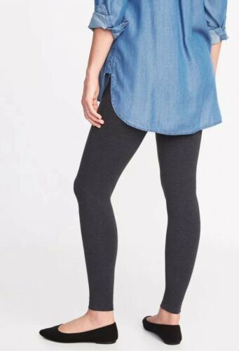 Black NWT Small Old Navy Maternity Front Low-Panel Leggings