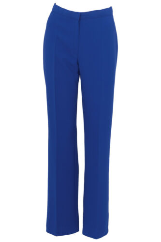 Busy Royal Blue Smart Ladies Trousers