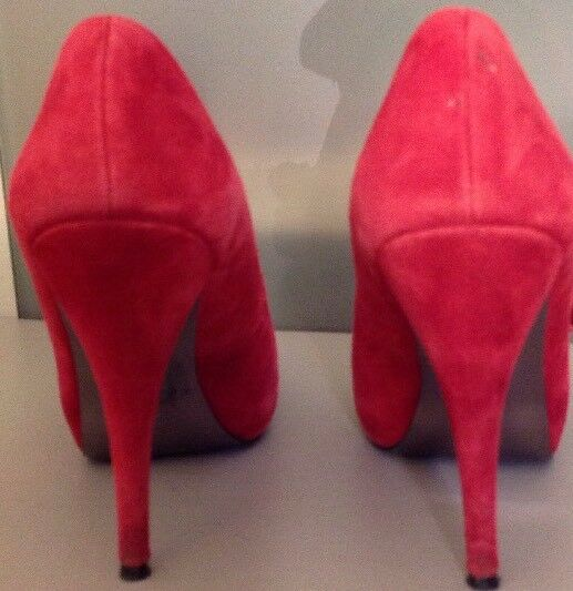 Steve Madden 7 1 2 Pumps rot Suede Pumps 2 496e50