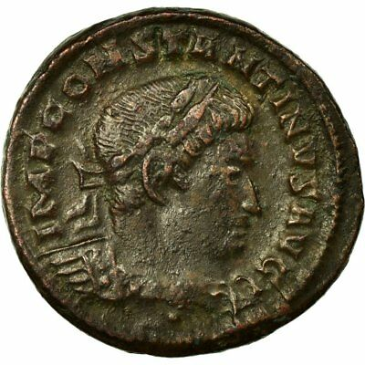 Constantine I Coin 40-45 Enthusiastic Copper Trier Nummus Ef Ric:870 Chills And Pains #652873