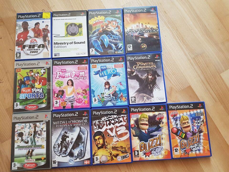 37 spil, PS2