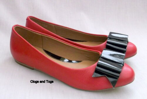 Womens New 5 Taglia Red Clarks Aintree 38 Shoes Jump Pumps Leather xwqA1f