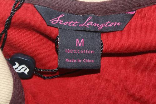 SCOTT LAGTON Men/'s Olympia Beige Sweatshirt Size M $195