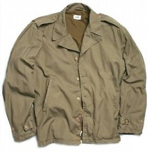 Gerade Us M41 Army Wwii Officier Feldjacke (repro) Vintage Jacke Jacket L / Large