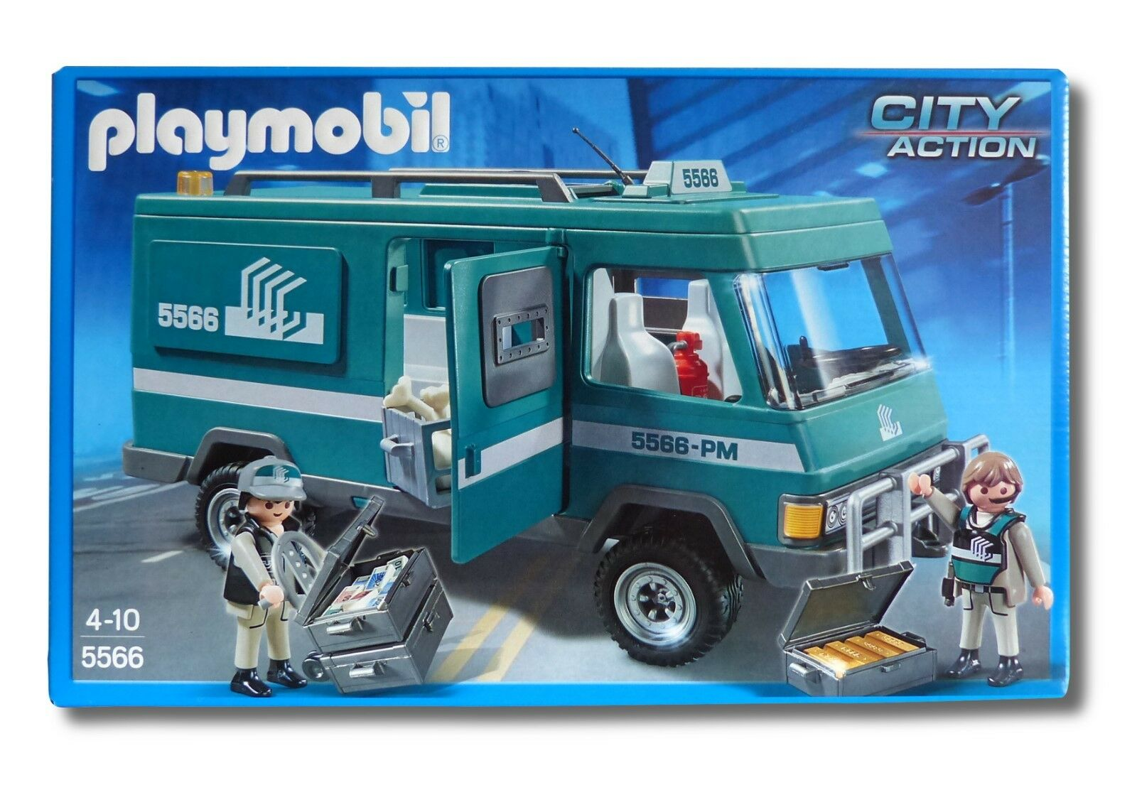 PLAYMOBIL® City Action 5566  Geldtransporter  Polizeistation Polizei NEU OVP
