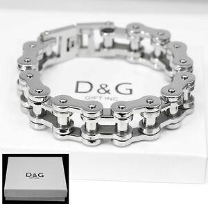 Image Is Loading Dg Men 039 S Silver Stainless Steel 9