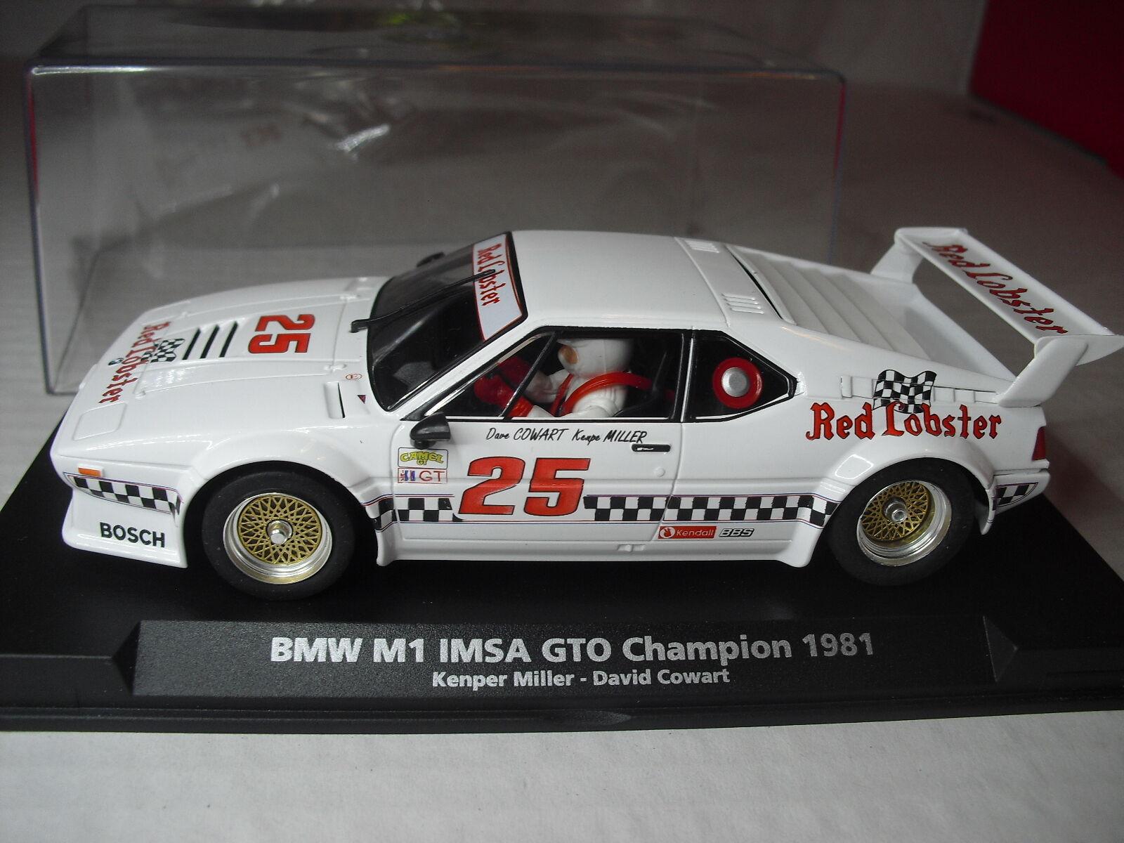 Flyslot BMW & GTO Champion  1981 nouveau 1 32  expédition rapide et meilleur service