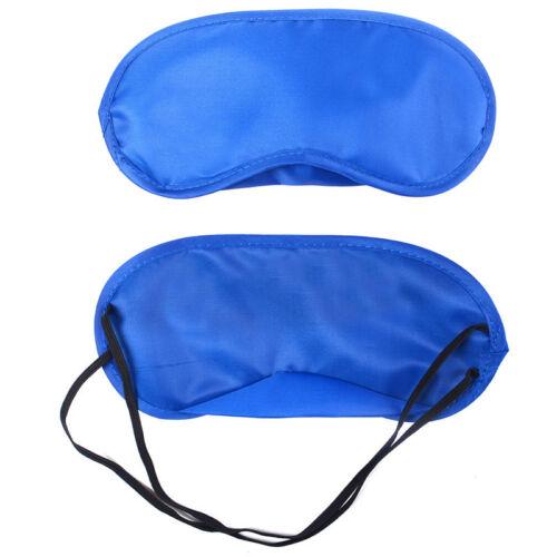 Travel Sleep Eye Mask Blind Fold Shade Blinder Elasticated Rest Eye-mask Xmas UK