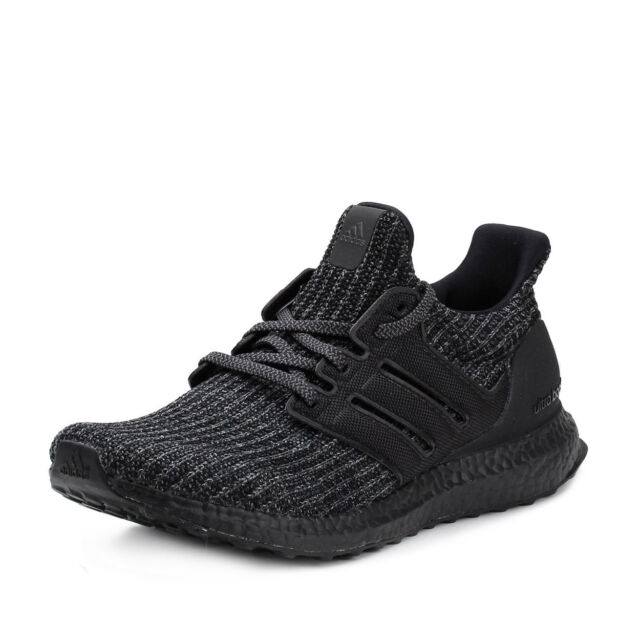 54989b24a Mens adidas Ultra Boost 4.0 Triple Black Bb6171 US 8 for sale online ...
