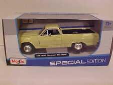 1965 Chevy El Camino Pick-up Truck Die-cast Car 1:25 Maisto 8 inch Yellow
