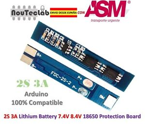 2S-3A-18650-Li-ion-Lithium-Battery-7-4v-8-4V-Charger-Protection-Board-BMS-PCM