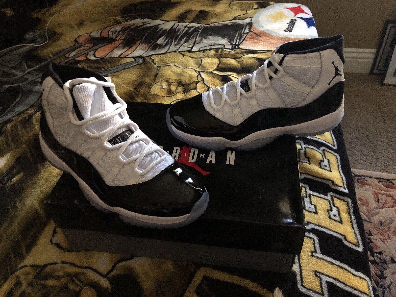 Air Jordan 11 Concord 2018 Size 11.5 w  receipt