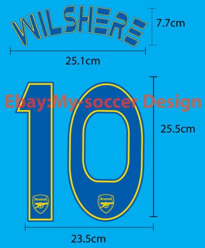 Arsenal FC Away UCL 2013-14 PU REPRODUCTION PRINT FREE SHIPPING