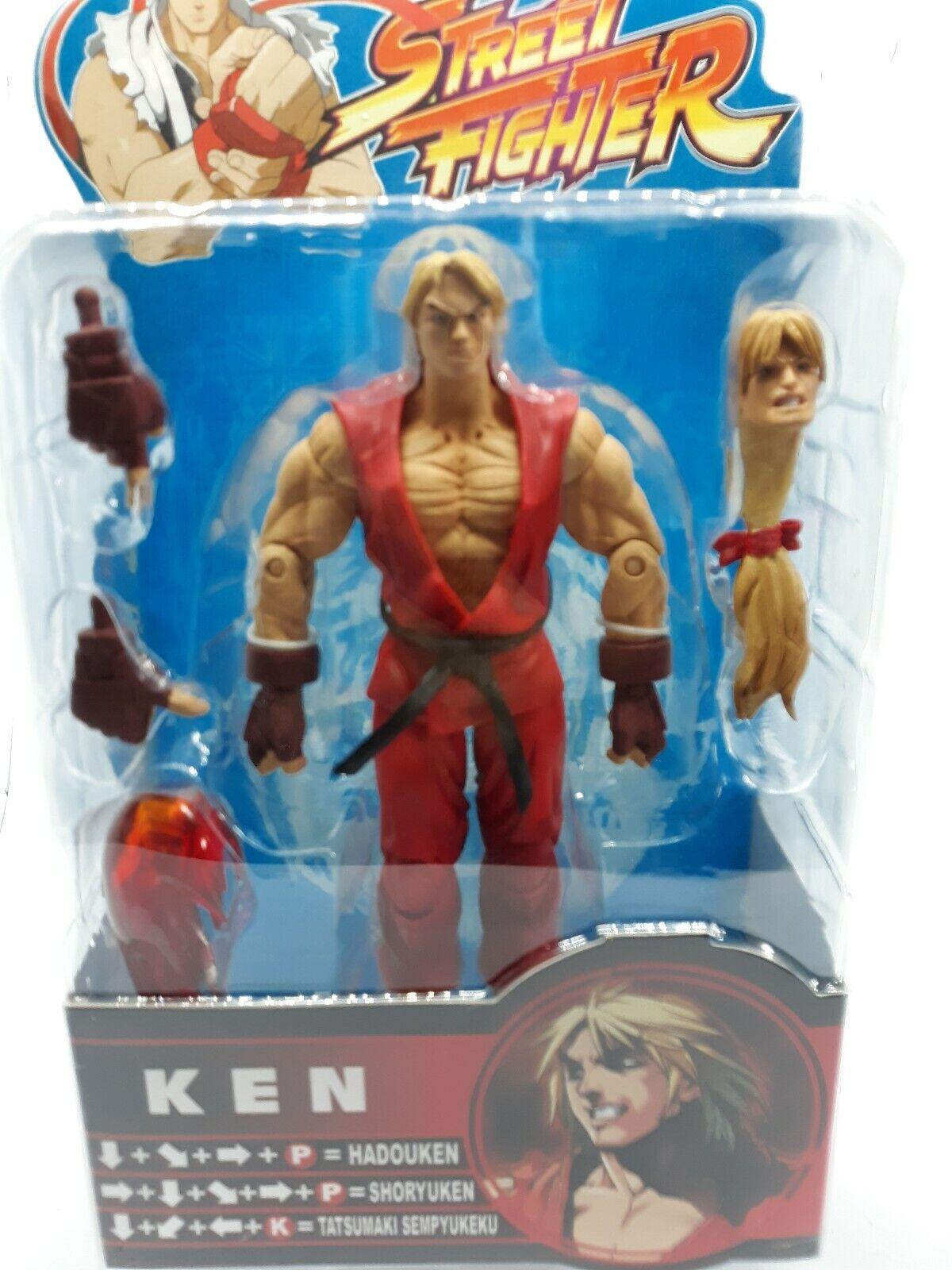Venta en línea precio bajo descuento Street Fighter Ken Figura Figura Figura De Acción Nueva Sota Variante Exclusiva Rojo A2  venta con alto descuento