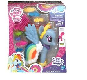Official Hasbro My Little Pony Cutie Mark Magic Fashion Style Poney RAiNBOW DASH