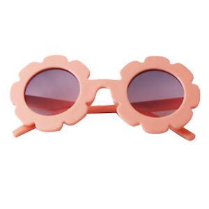 atractivo y duradero variedades anchas mejor precio para Detalles de lindo sol flor niños bebé niña chica plástico suave uv400 gafas  de sol