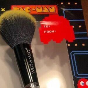 One-Wet-n-Wild-X-PAC-MAN-Ltd-Ed-WAKA-WAKA-WAKA-POWDER-BRUSH-Limited-Edition-New