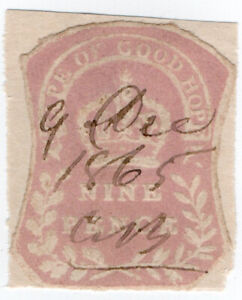 I-B-Cape-of-Good-Hope-Revenue-Stamp-Duty-9d