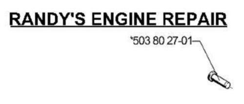 OEM HUSQVARNA 501898402 Knob fits 3120 3120xp replaces 501898401 US Seller